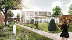 Marc Koehler Wins Competition to Design Edegem Community Center and Library