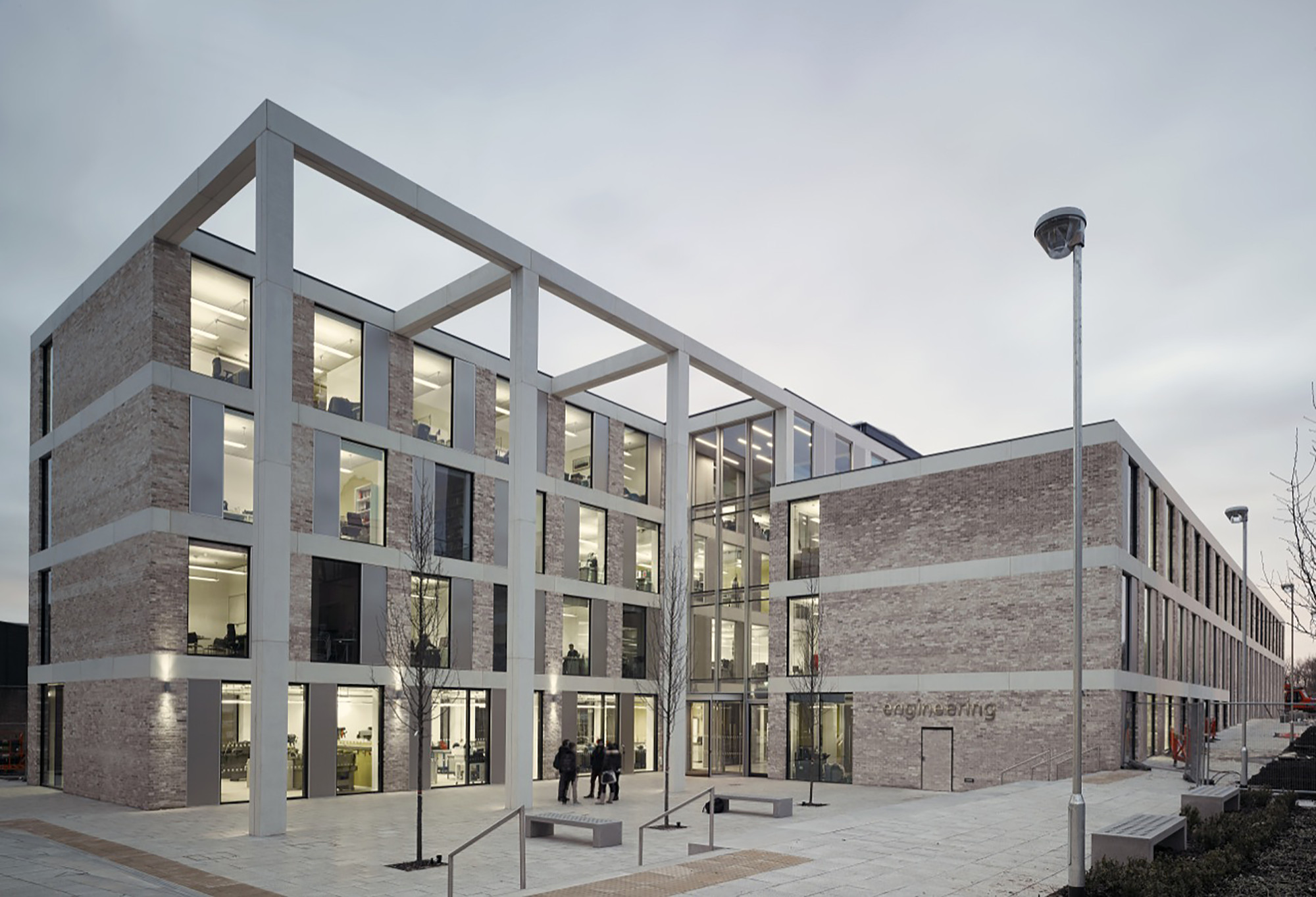 School of Engineering at Lancaster University / John McAslan + Partners, © Nick Gutteridge