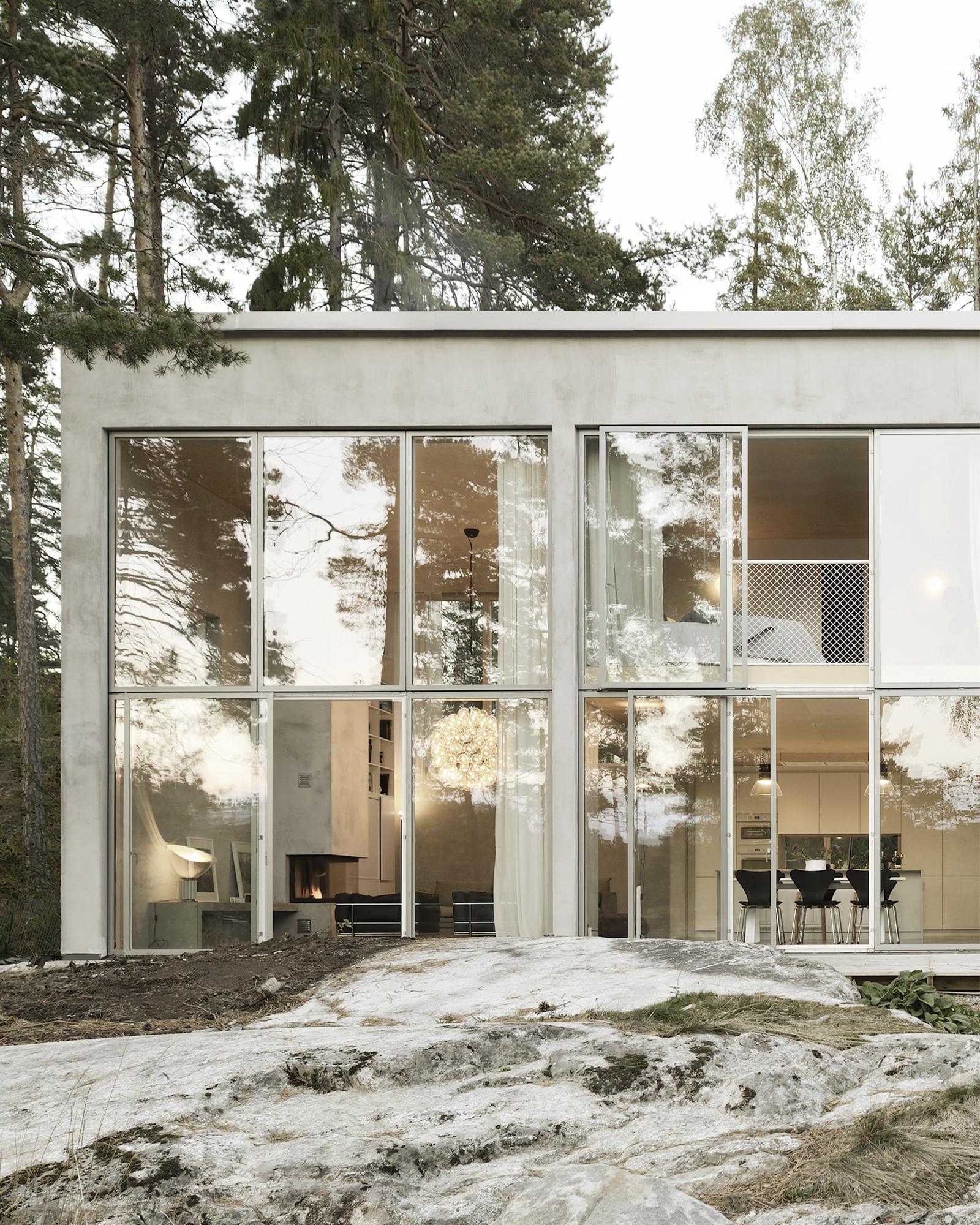 Casa seis paredes arrhov frick arkitektkontor for Casa rural mansion terraplen seis