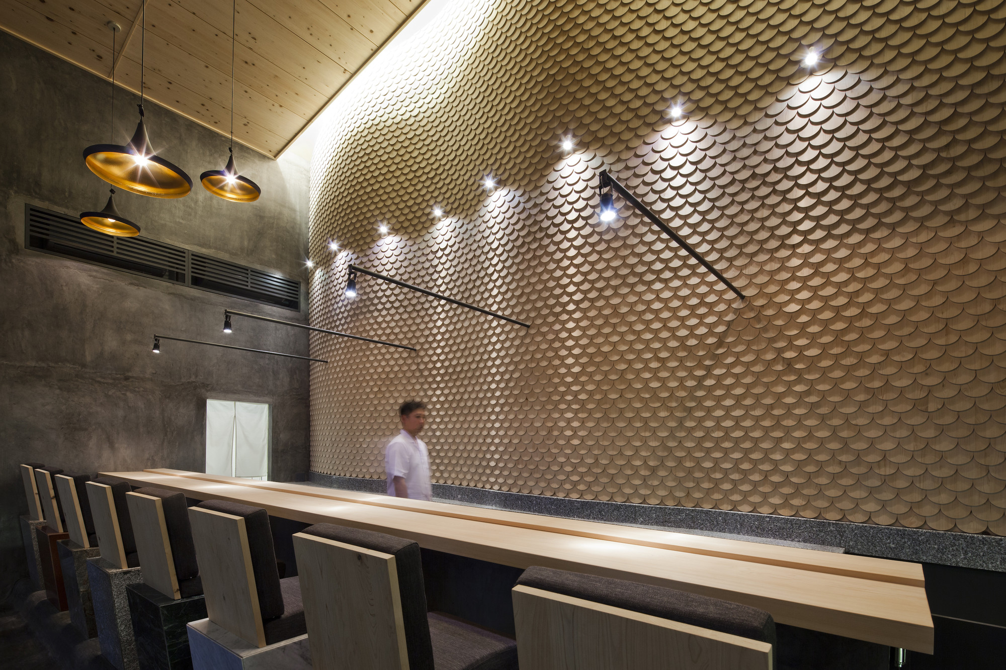 Sushi Restaurant In Ho Chi Minh City 07beach Archdaily