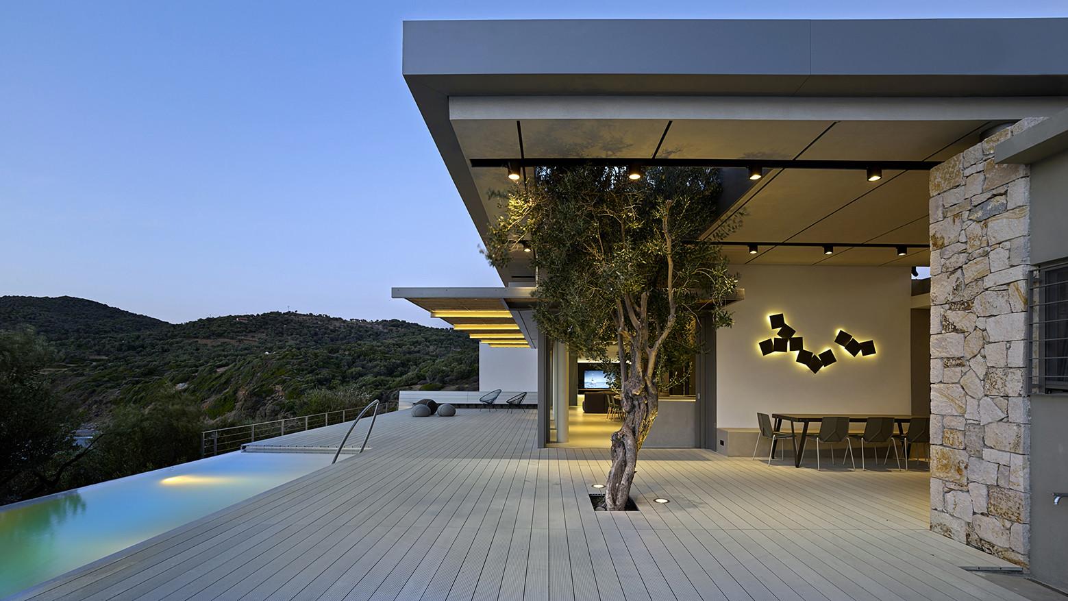 Notre Ntam' Lesvos Residences / Z-level, © Yiorgis Yerolybos