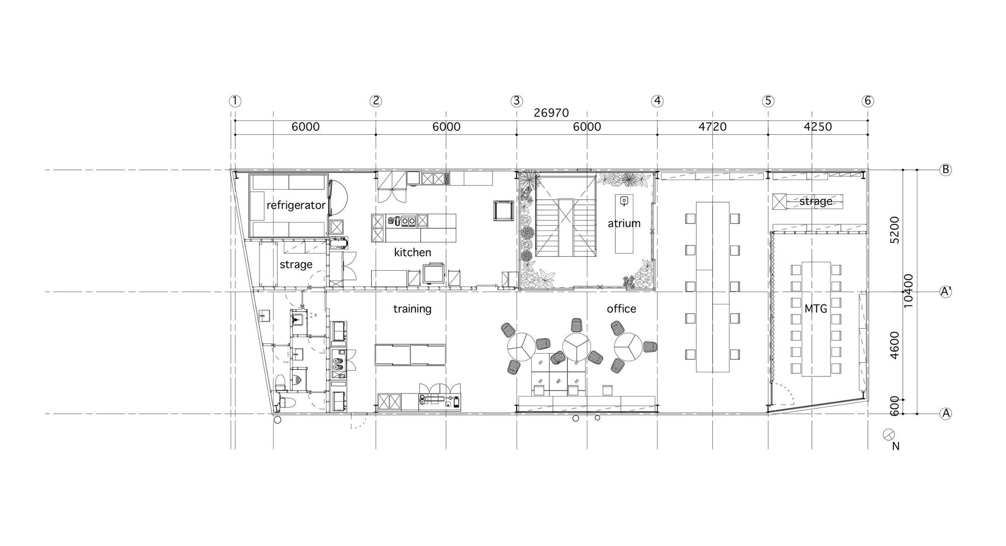 Coffee Floor Plan: Gallery Of Blue Bottle Coffee Kiyosumi-Shirakawa Roastery