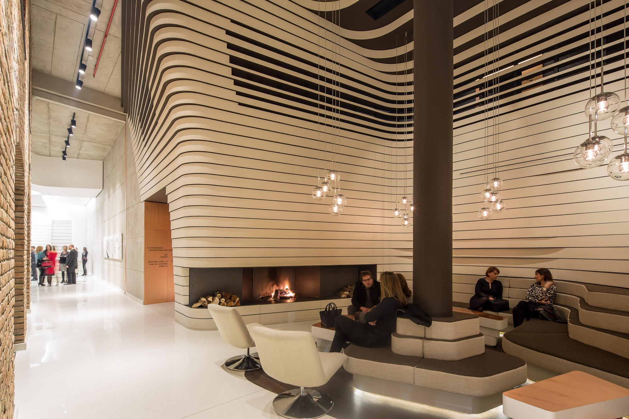 Gallery of old mill hotel belgrade graft architects 8 for Belgrade design hotel