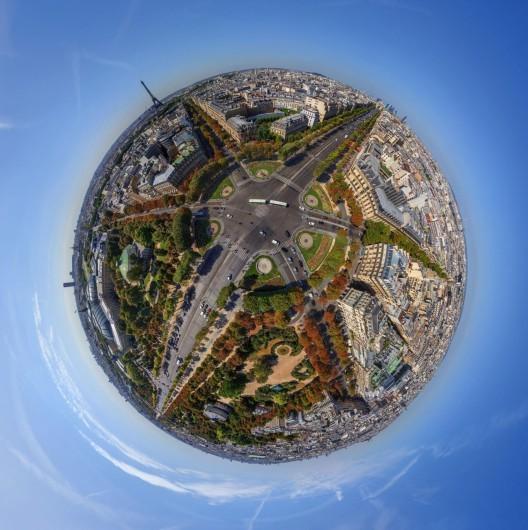 16 impresionantes fotografías de ciudades tomadas en 360º