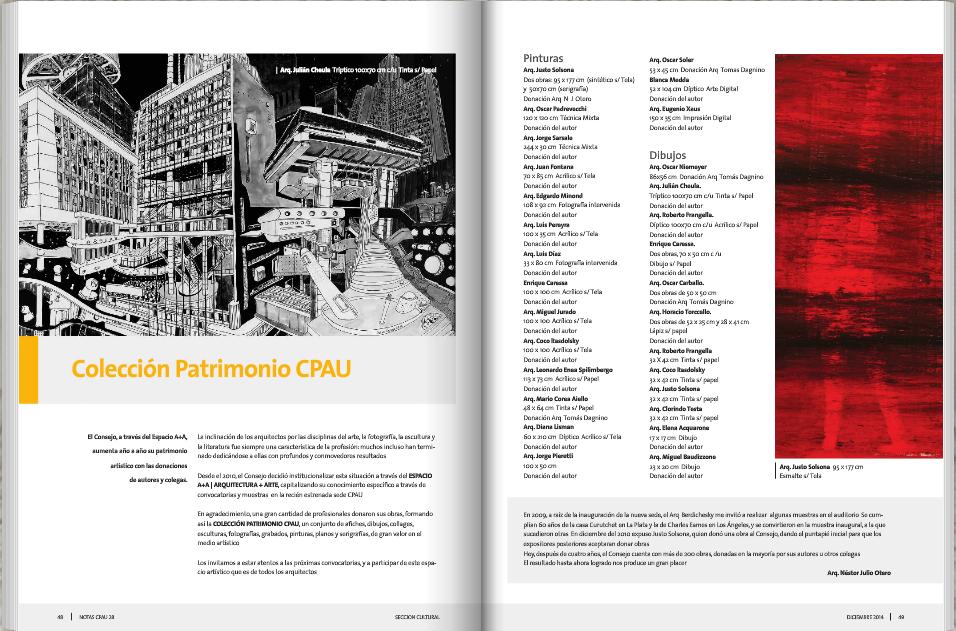 Revista notas cpau 28 comunicaci n y marketing en for Revistas de arquitectura online