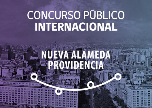 """Hoy se lanzó el Concurso Internacional """"Proyecto Nueva Alameda Providencia"""" en Santiago"""