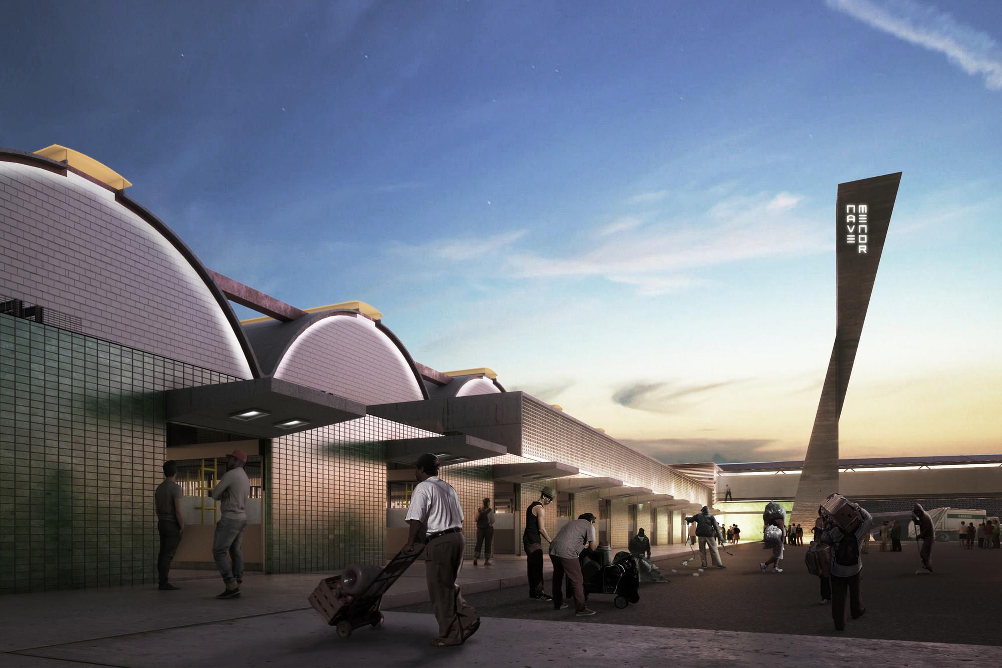 México: Gaeta Springall Arquitectos diseña proyecto para regeneración de Nave Menor del Mercado de la Merced, Cortesia de Gaeta Springall Arquitectos
