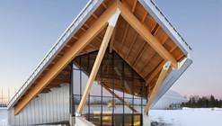 Philip J. Currie Dinosaur Museum  / Teeple Architects