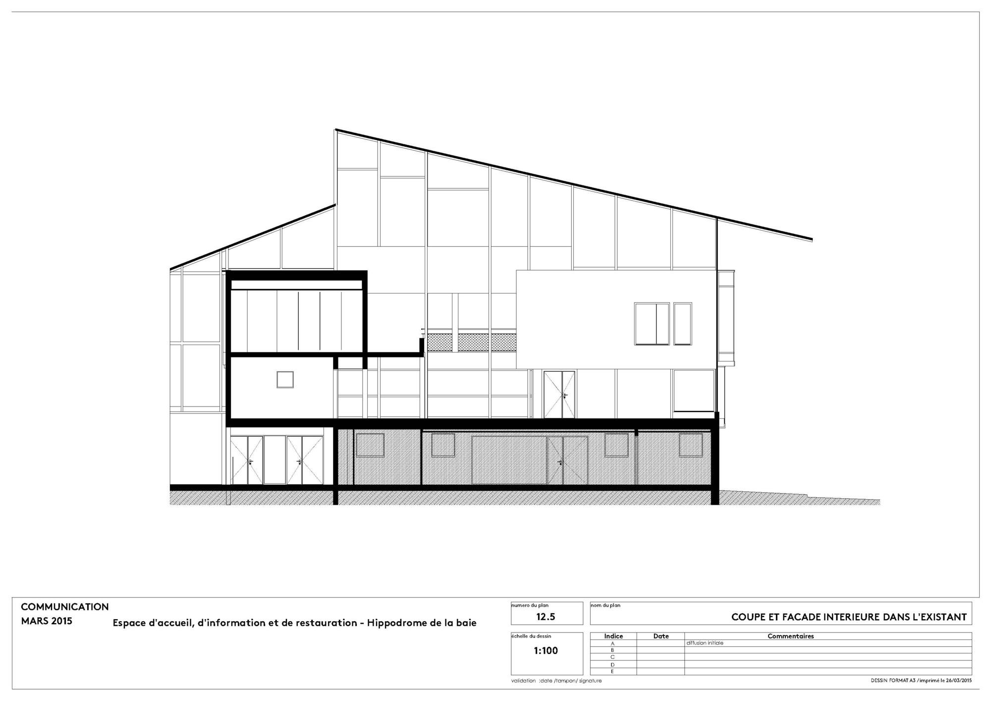 Galeria de o hip dromo de la baie nomade architects 16 for Architecture nomade