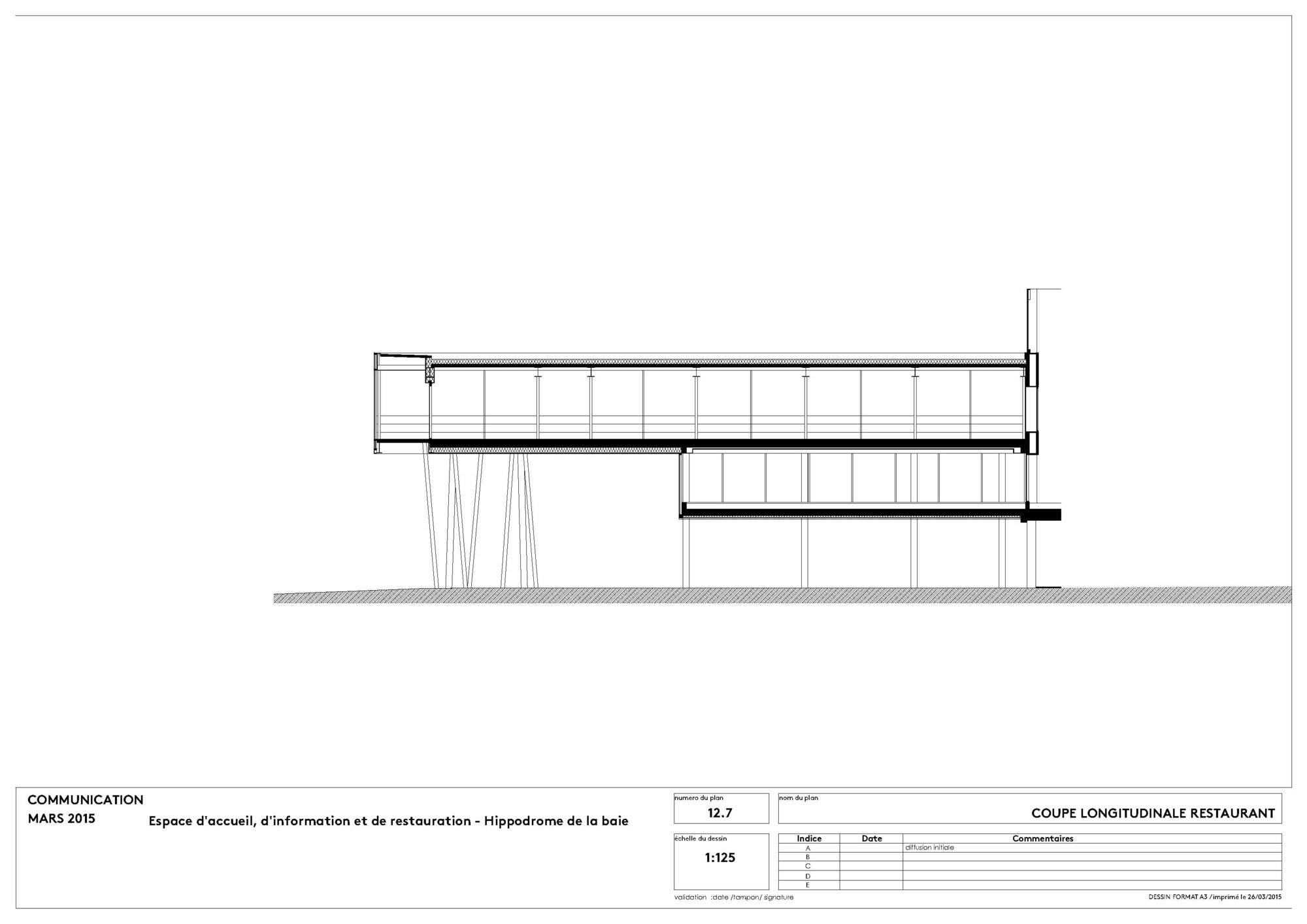 Galer a de el hip dromo de la baie nomade architects 14 for Architecture nomade