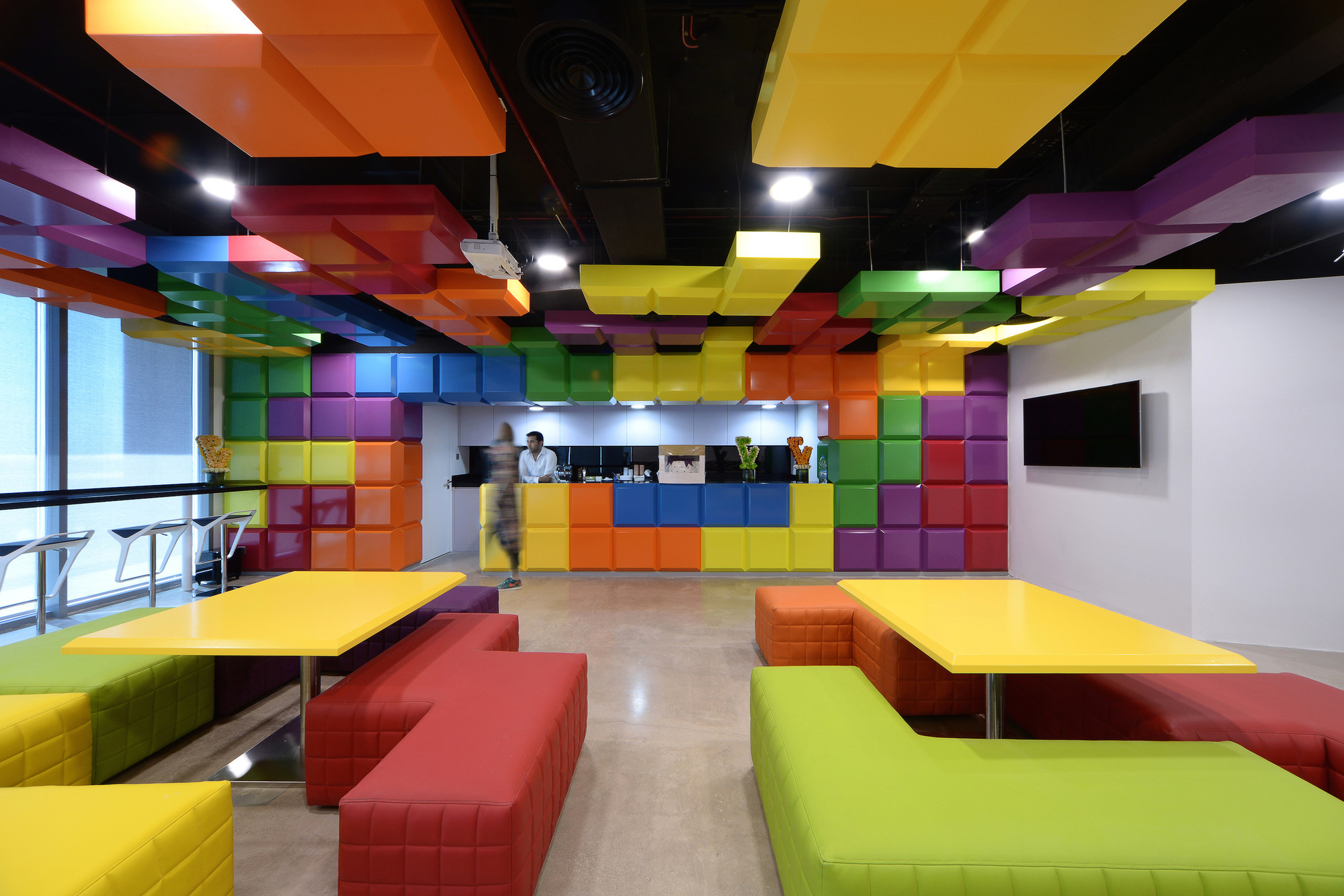 Gallery of viola communications office m n architecture 4 for Advertising agencies office interior design