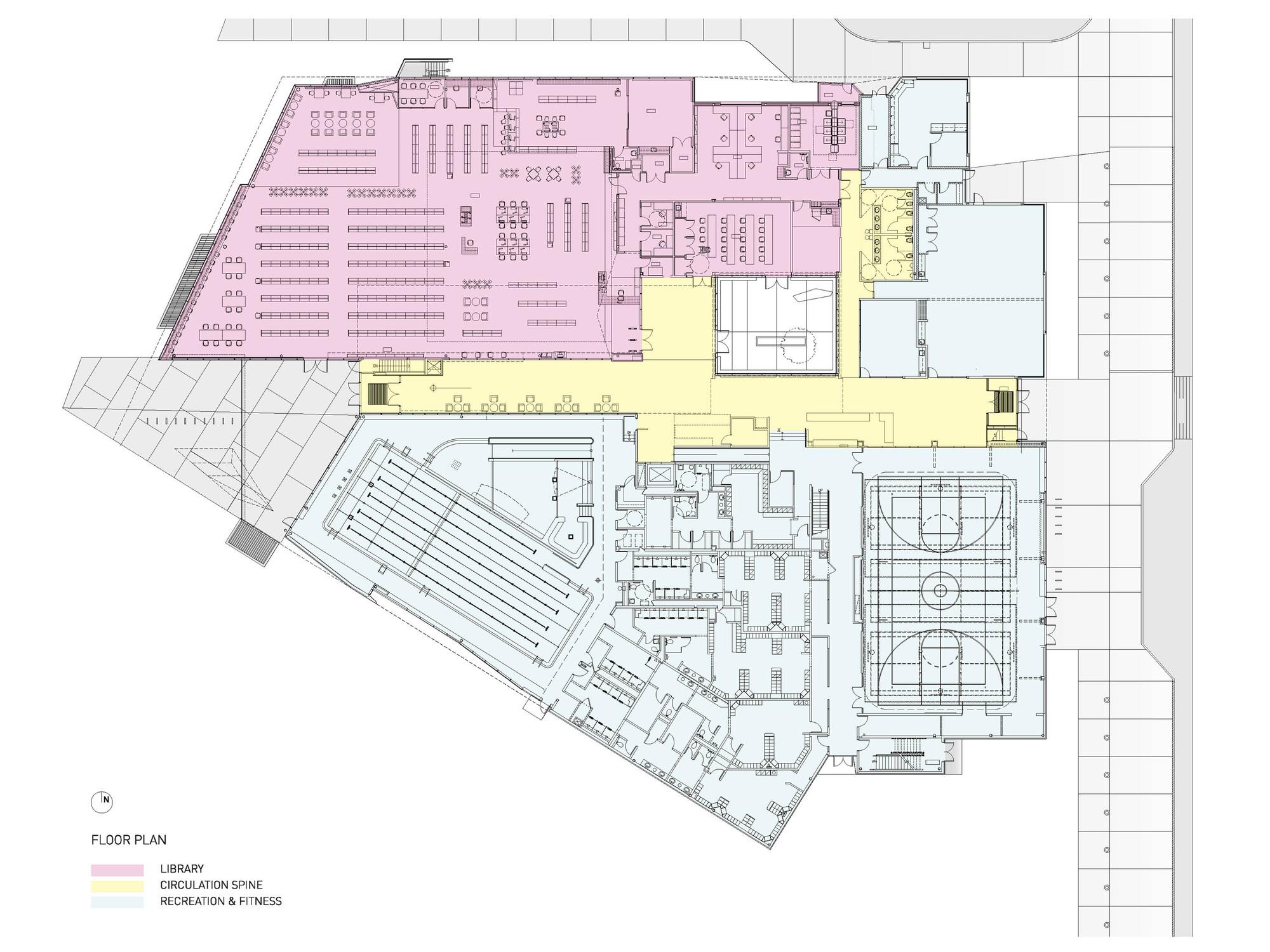 Small Daycare Floor Plans Gallery Of John M Harper Branch Library Amp Stork Family