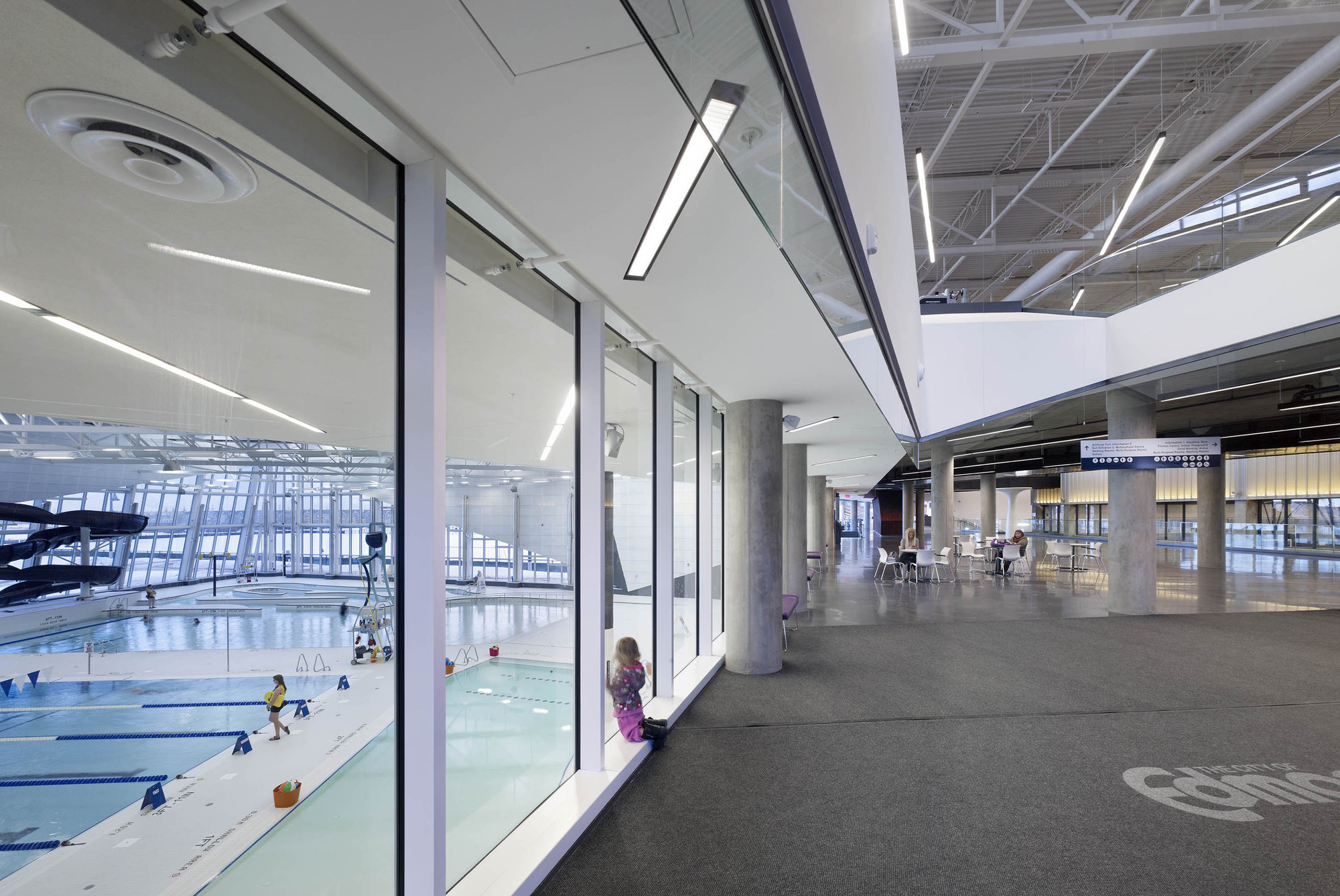 Gallery Of Clareview Community Recreation Centre Teeple Architects 2