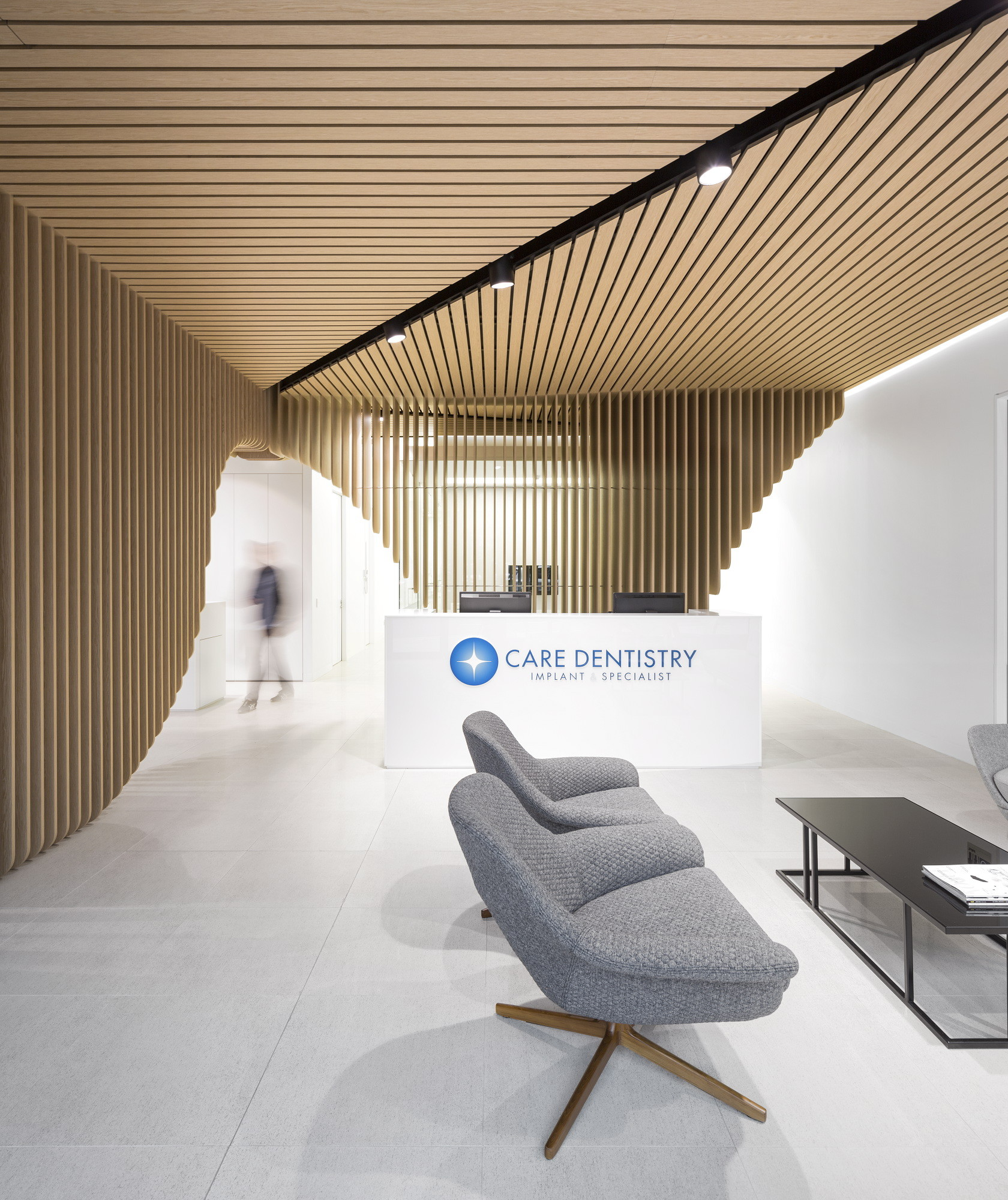 office interior design sydney. Care Implant Dentistry Pedra Silva Ts Archdaily. Salon Interior Design Home Office Sydney