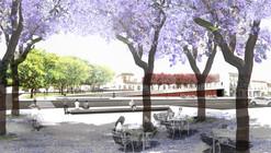 Emac Arquitectura, primer lugar en concurso de la Plaza de la Cruz / Huelva, España