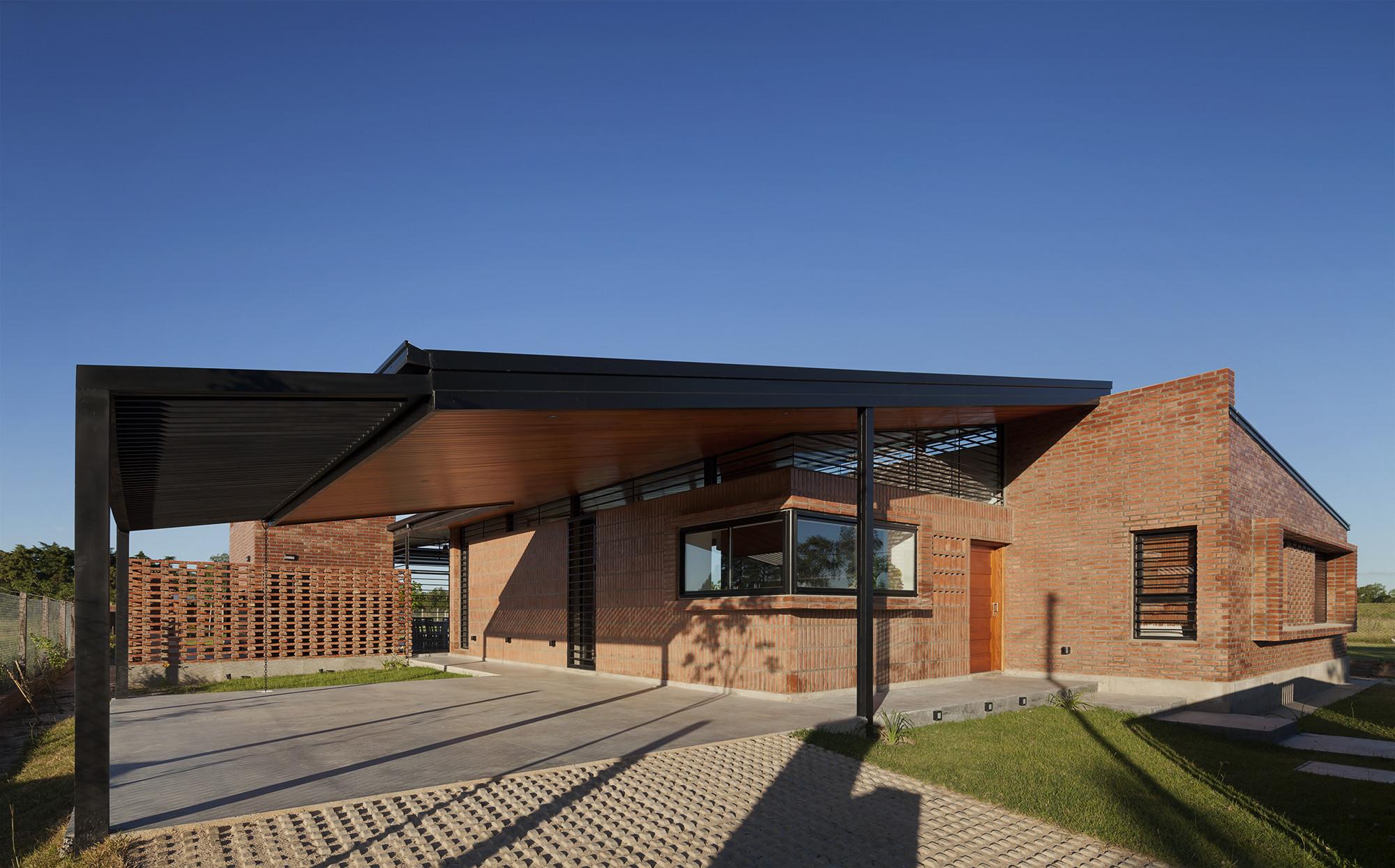 Galeria de casa mm estudio puyol meinardy 5 for Casas de campo argentina diseno