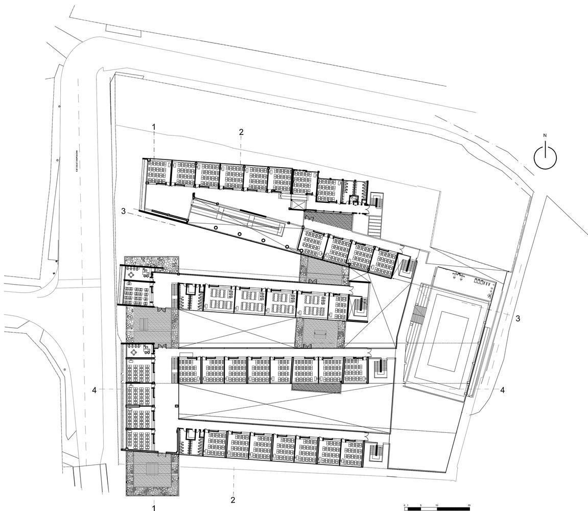 Gallery Of Mariano Latorre Lyceum Macchi Jeame Danus Boza Saab 9 3 Stereo Wiring Diagram Lyceumfloor Plan