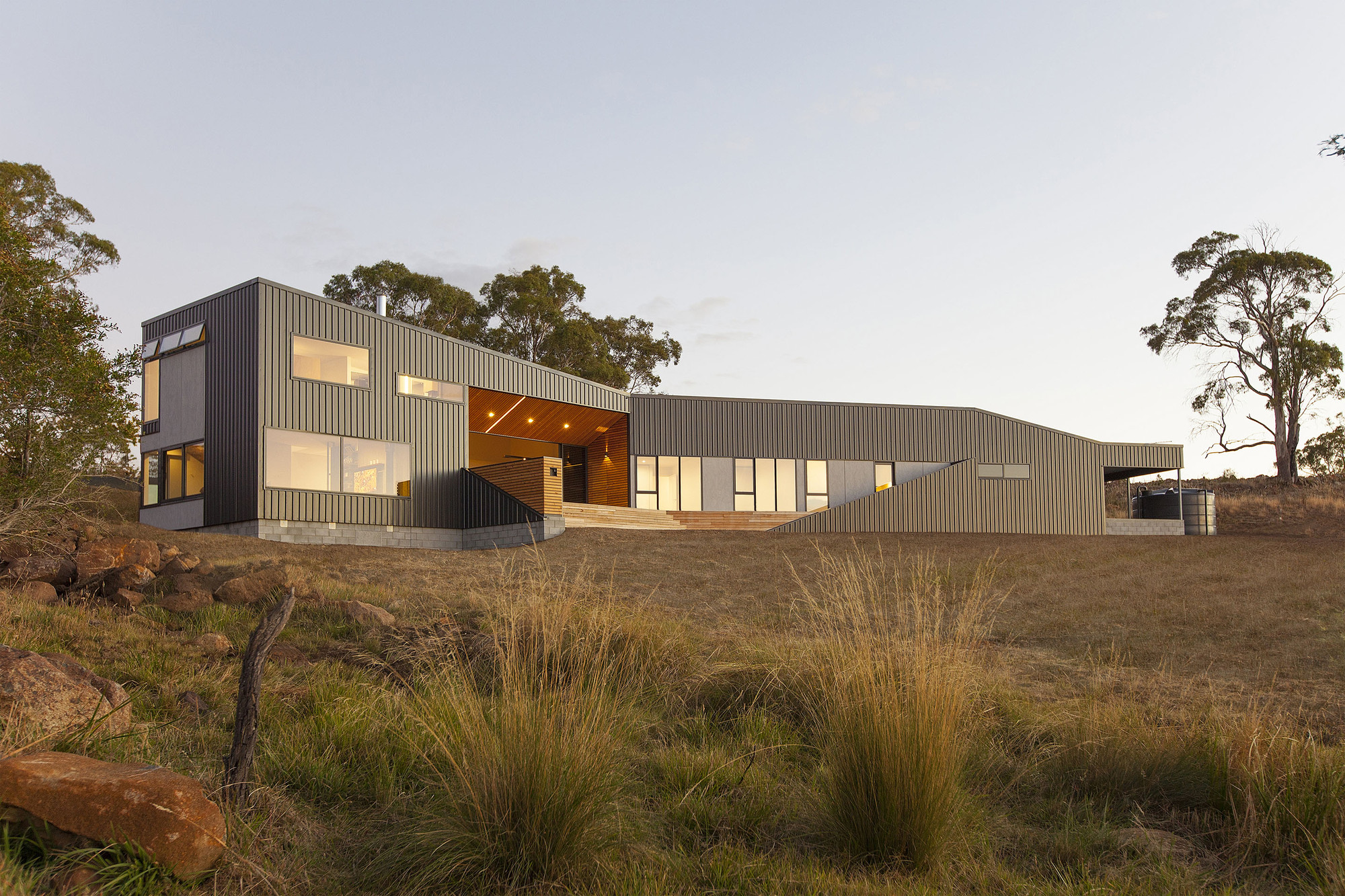 Valley House / Philip M Dingemanse, © Luke Hesketh