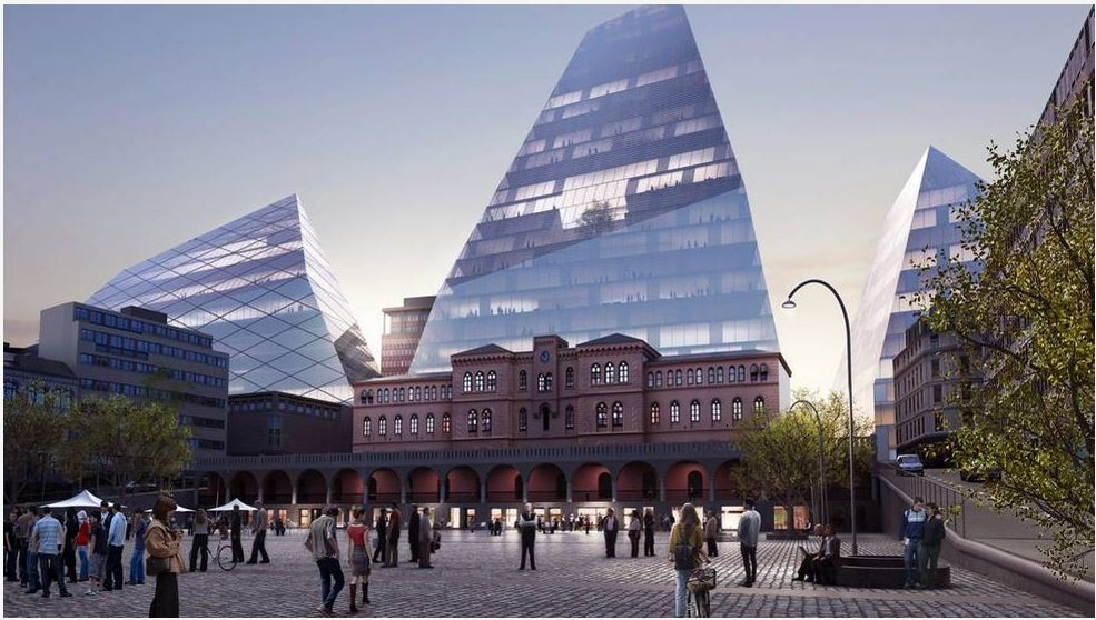 6 Proposals Revealed for Oslo's New Government Quarter, © BIG