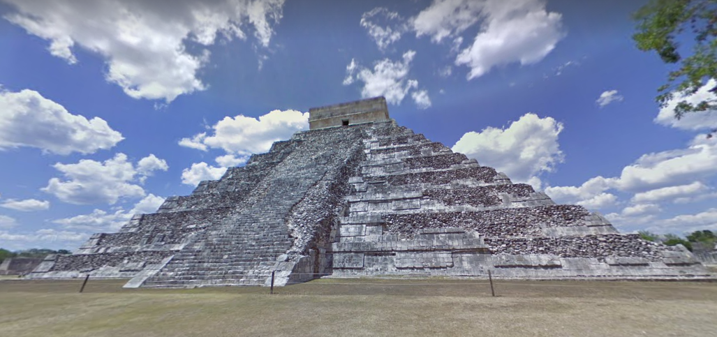 México: visita 65 increíbles hitos culturales en panorámicas 360°, Chichen Itza. Image vía Google Street View