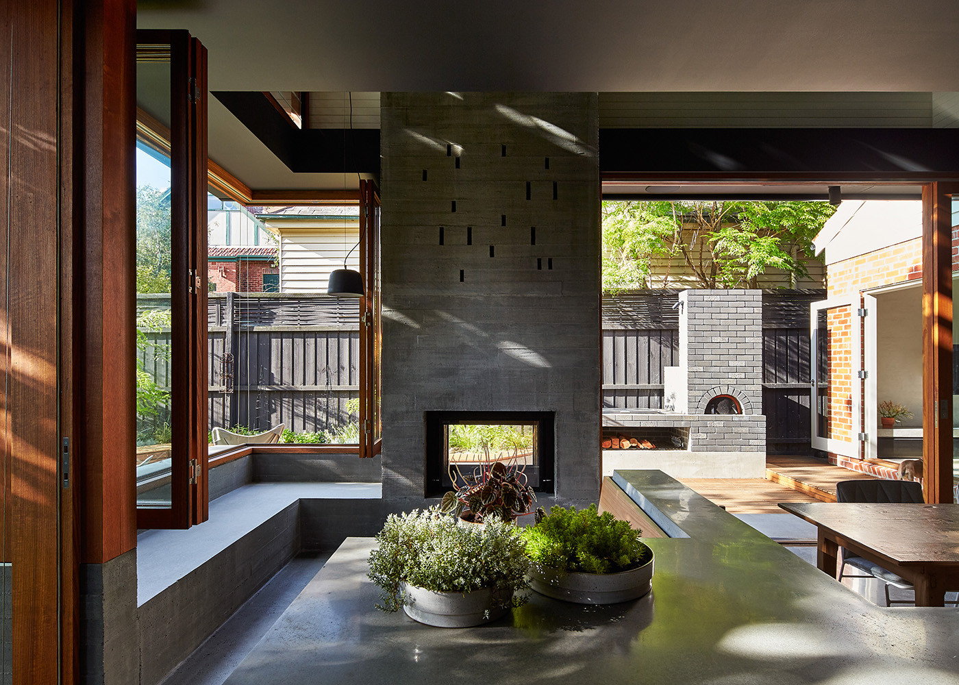 Gallery of local house make architecture 9 for Local architects
