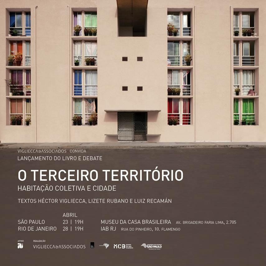 """Lançamento do livro """"O terceiro Território"""" de Héctor Vigliecca em São Paulo e no Rio de Janeiro, Cortesia de Vigliecca & Associados"""
