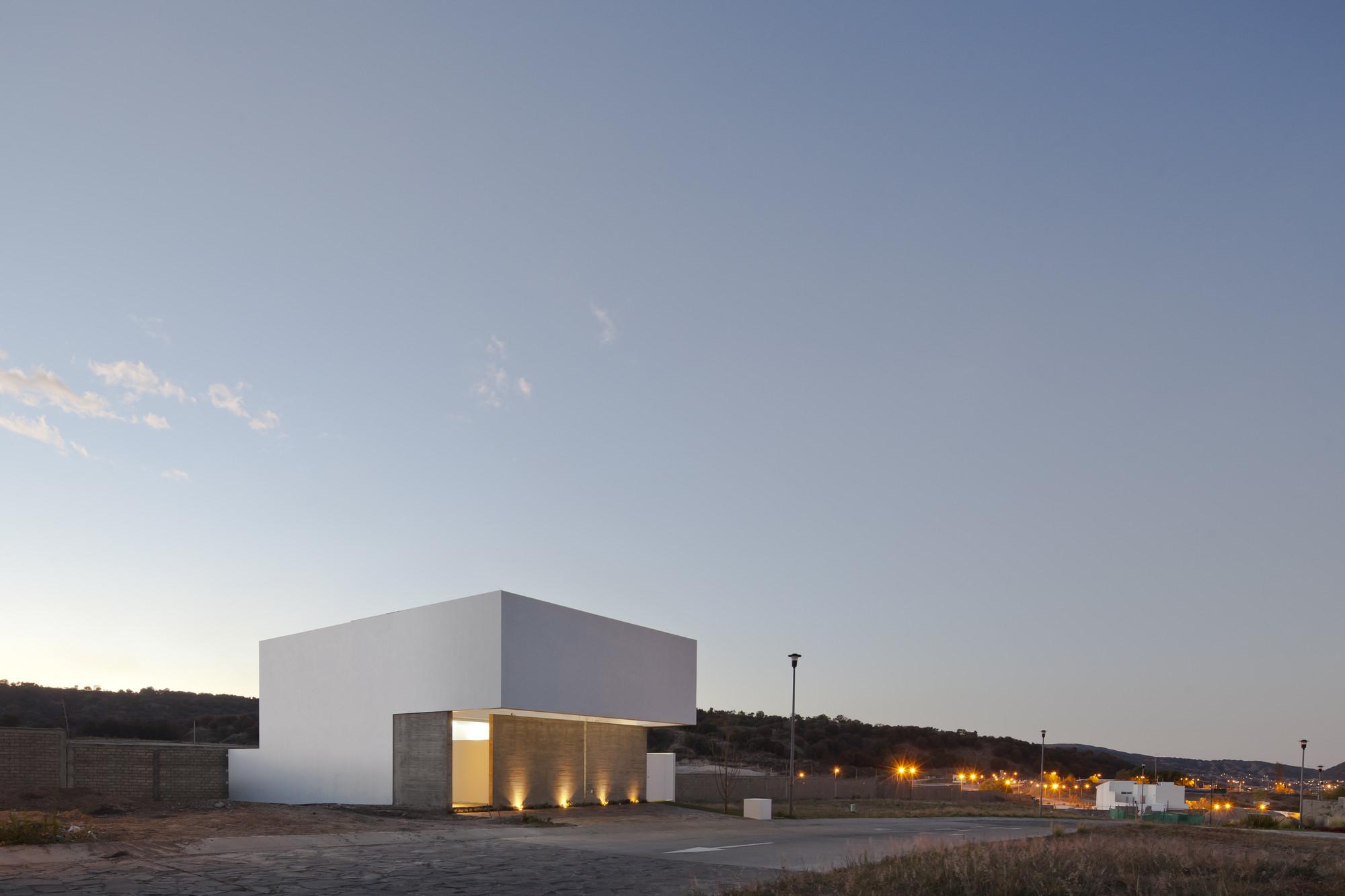 Residência para ver o céu/ Abraham Cota Paredes Arquitectos, © Onnis Luque