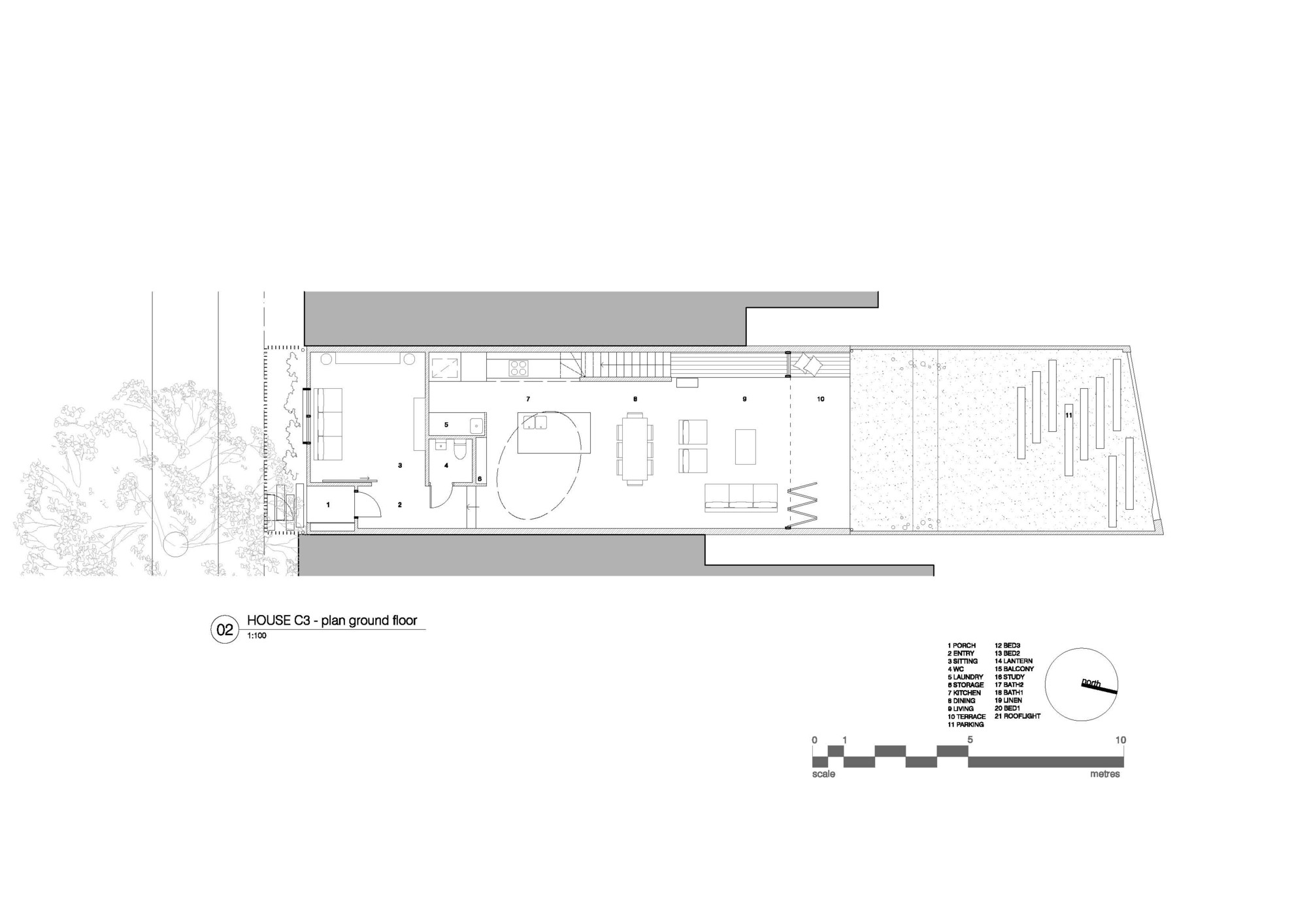 Gallery of House C3 / Campbell Architecture - 16