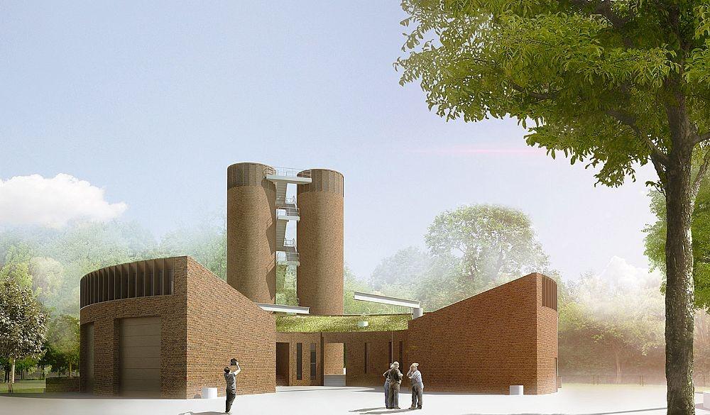 C.F. Møller Designs Denmark's Largest Sewage Pumping Station, © C.F. Møller