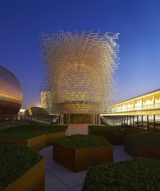 "Milan Expo 2015: Wolfgang Buttress Completes UK Pavilion's ""Virtual Beehive"" , © Hufton+Crow"
