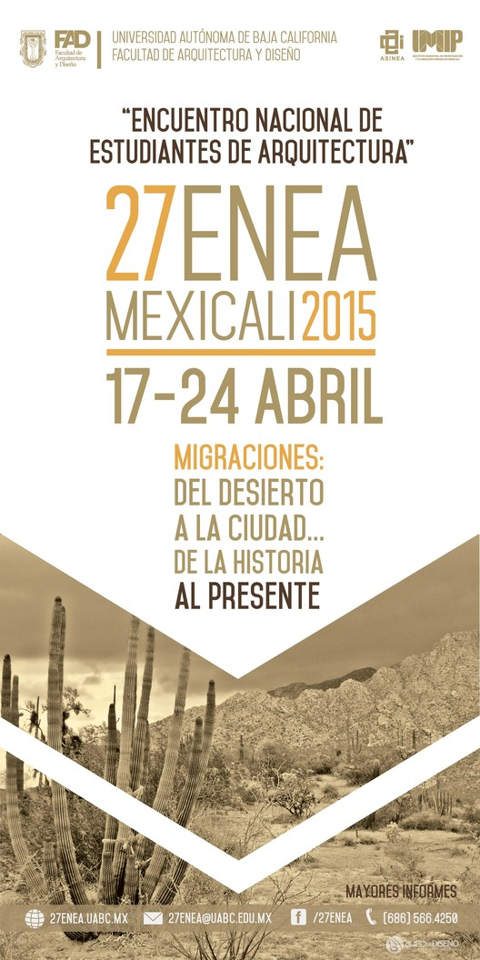 ENEA 27: Encuentro Nacional de Estudiantes de Arquitectura