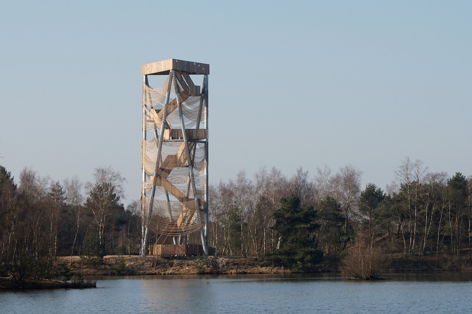 Viewing Tower Lommel / Ateliereen Architecten, Courtesy of Ateliereen Architecten
