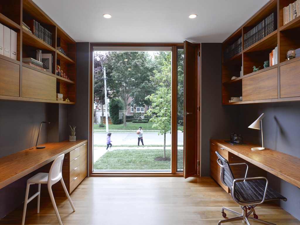 Counterpoint house paul raff studio architects archdaily for Professional home office ideas