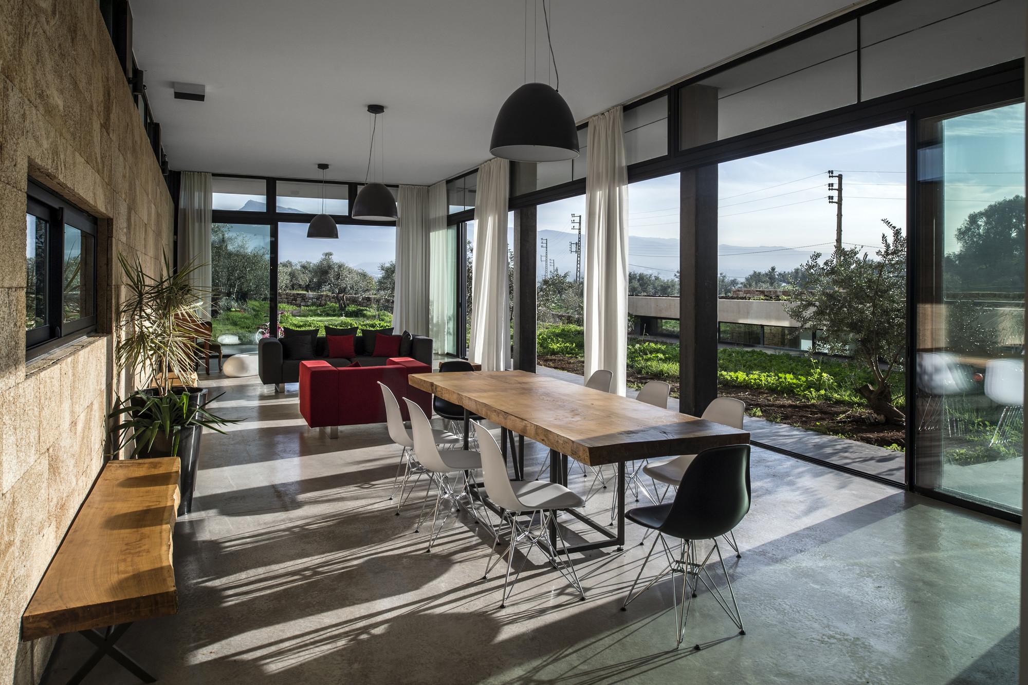 Mediterranean Style House Plans Gallery Of Zgharta House Platau 2