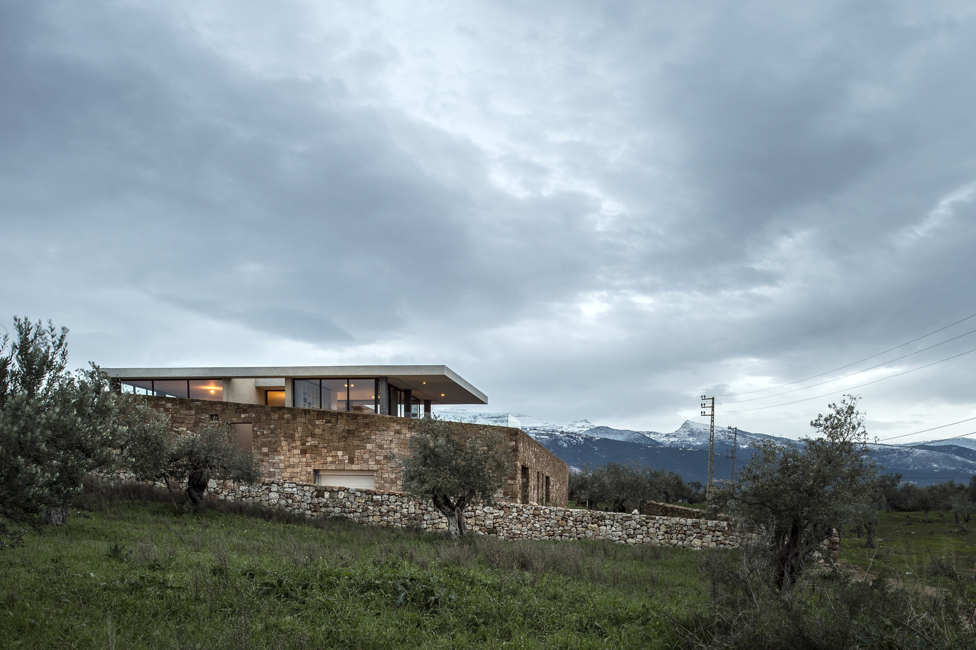 Zgharta house platau archdaily Define contemporary country