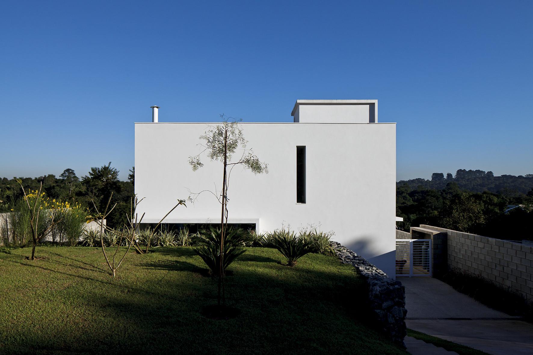 Residência na Reserva do Moinho / PA3 Arquitetura, © Leonardo Finotti