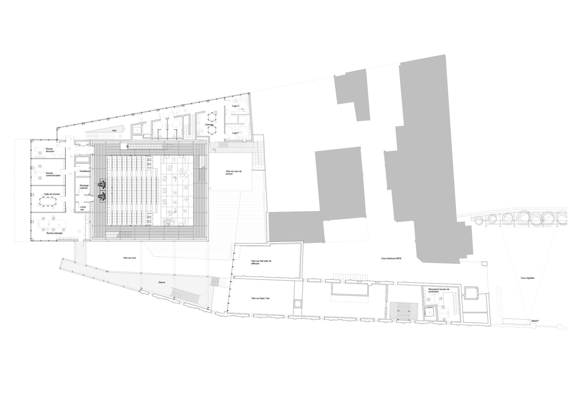 galeria de the flow atelier d architecture king kong 11. Black Bedroom Furniture Sets. Home Design Ideas