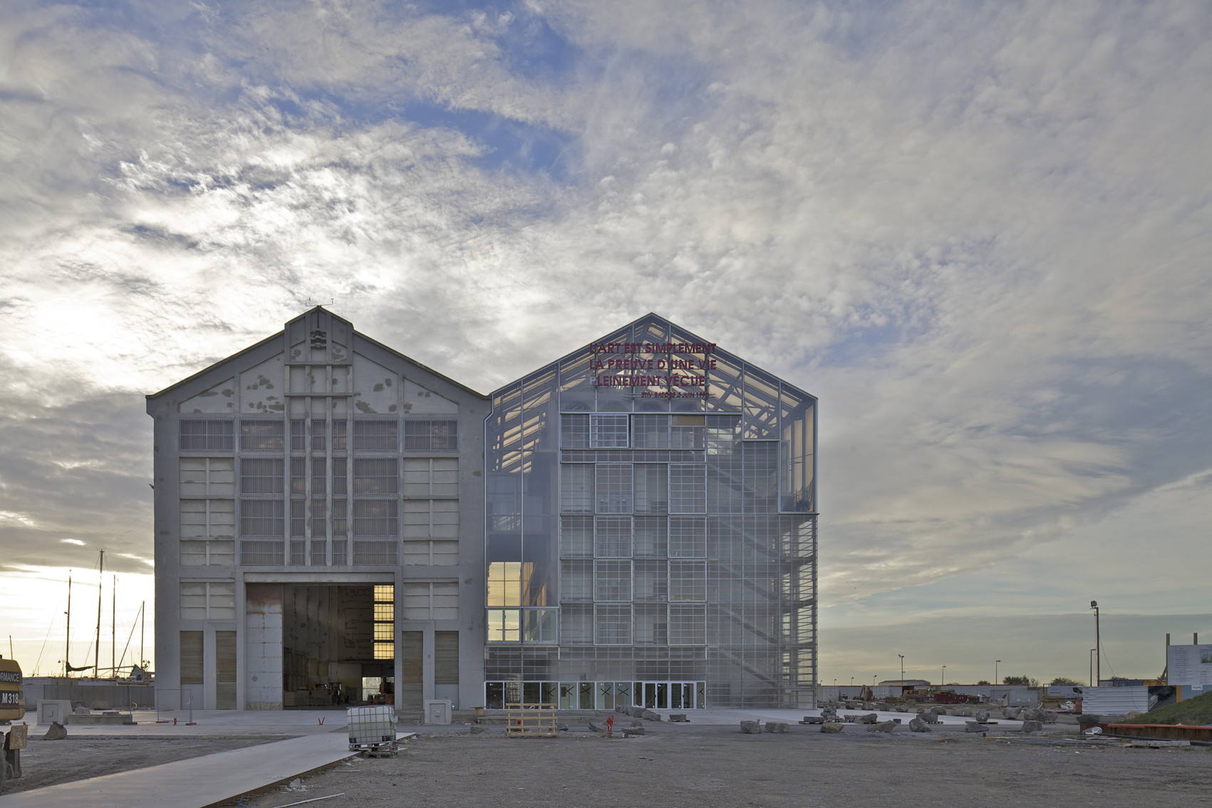 Lacaton & Vassal's Lesson in Building Modestly, FRAC Dunkerque / Lacaton & Vassal. Image © Philippe Ruault