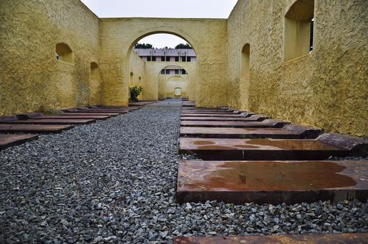 The Former Bangalore jail in India, now Freedom Park . Image © Flickr CC user abhisheksundaram