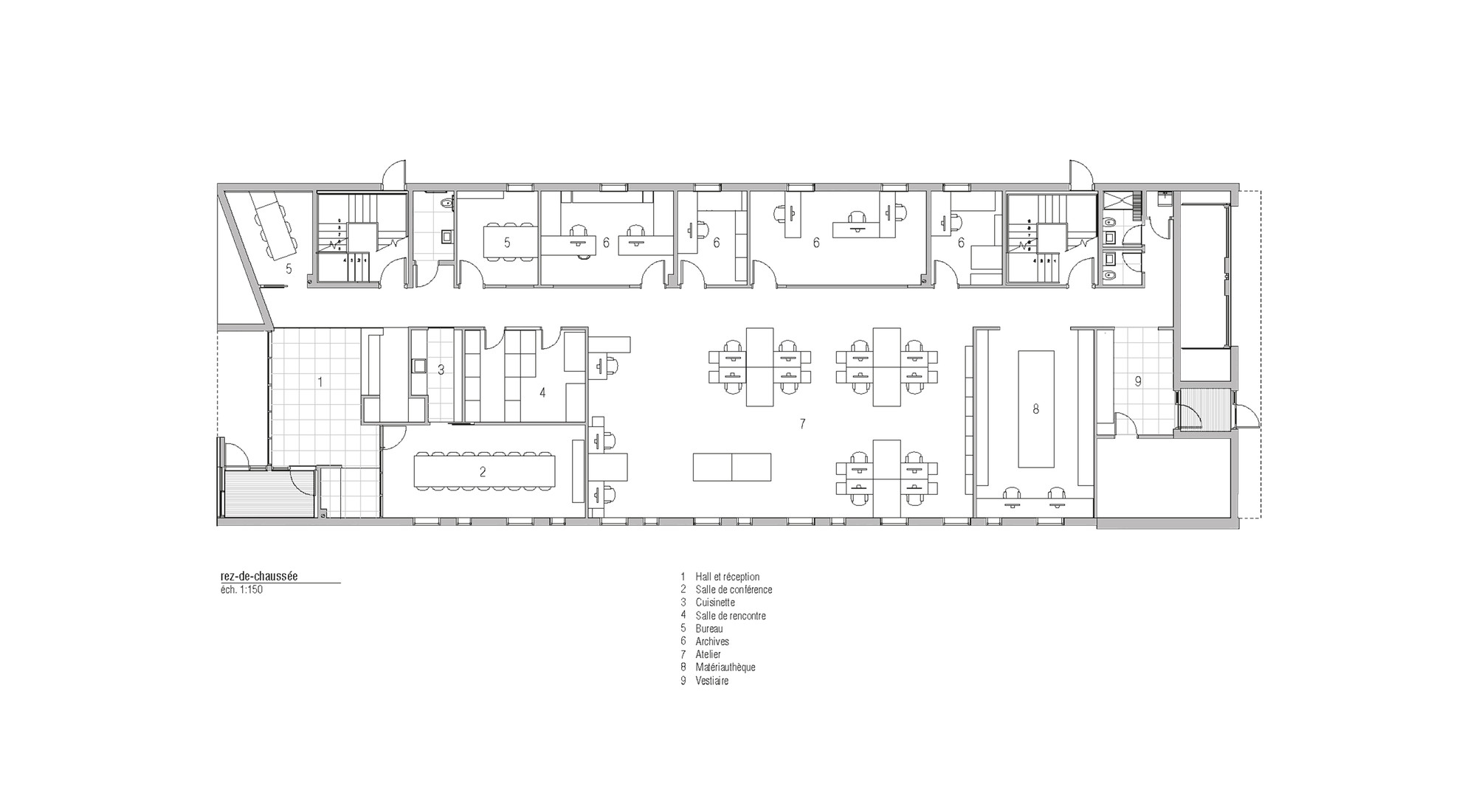 Awesome STGM Head Office,Ground Floor Plan