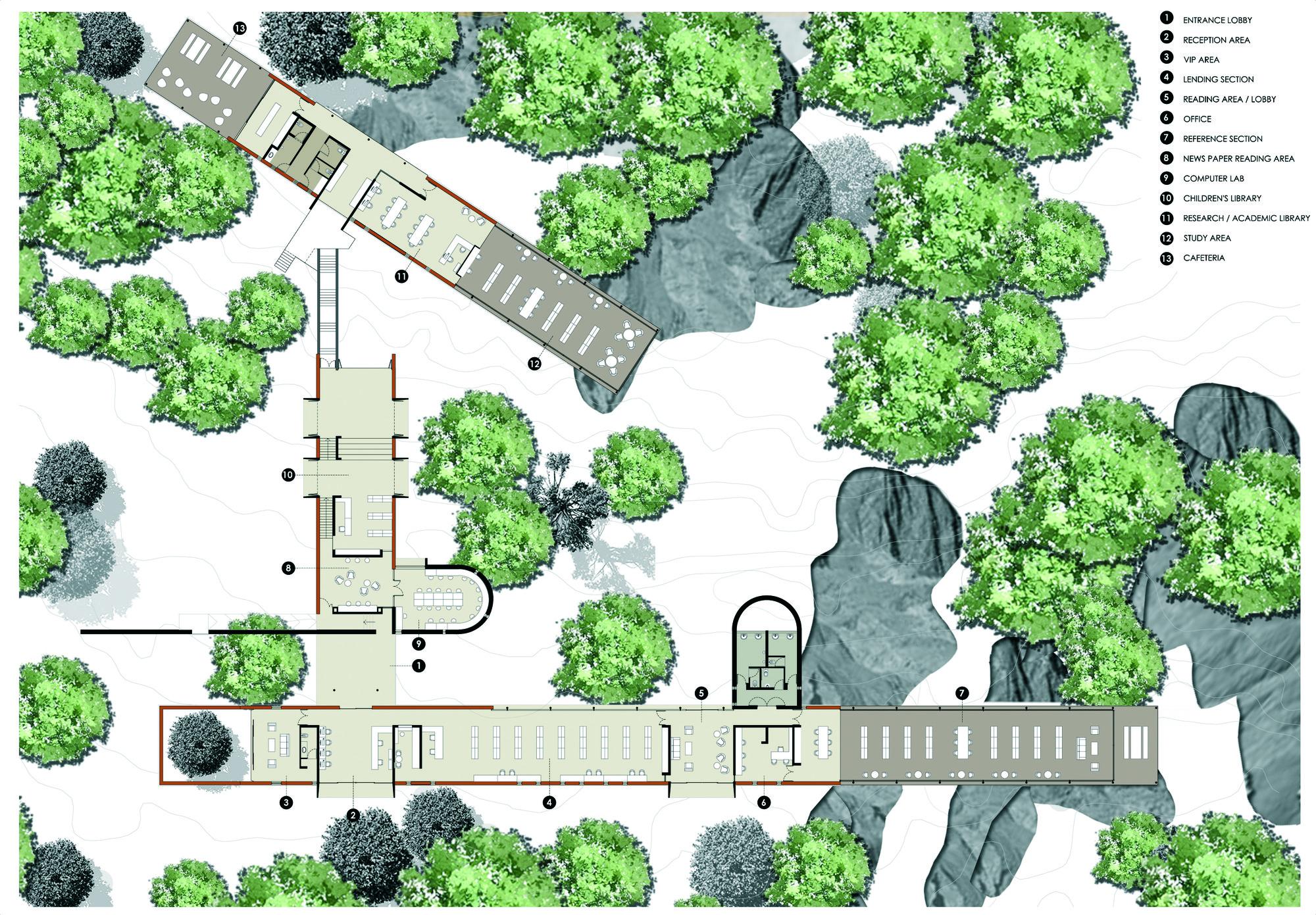 Green Building Floor Plans