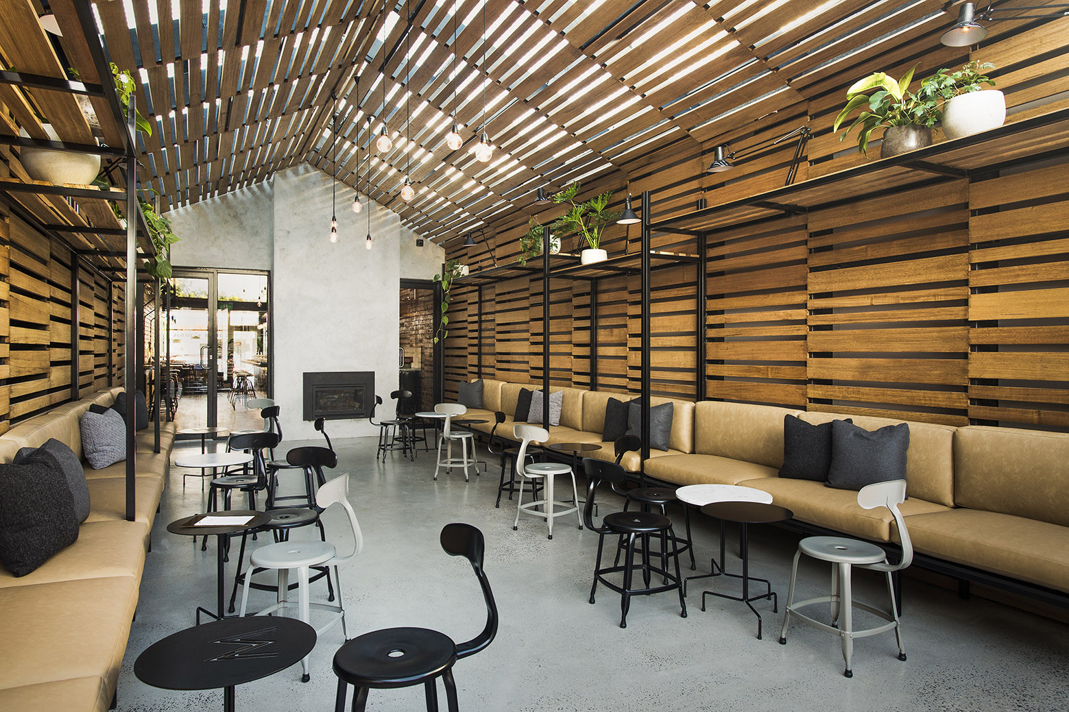 Beautiful Banquette Galeria De Restaurante The Milton Biasoldesign Studio 10