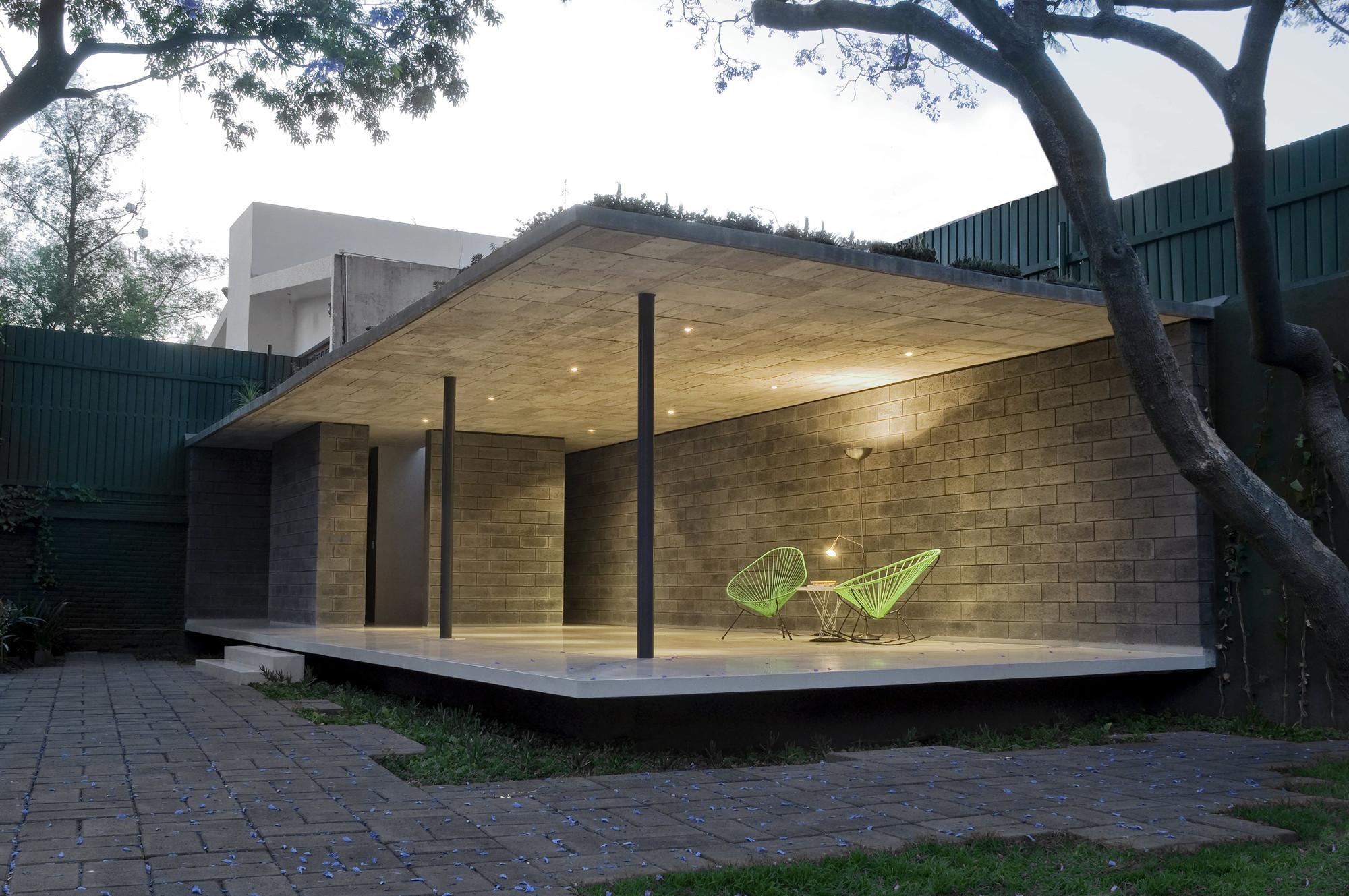 Galeria de casa patinadores rozana montiel estudio de for Estudio de arquitectura