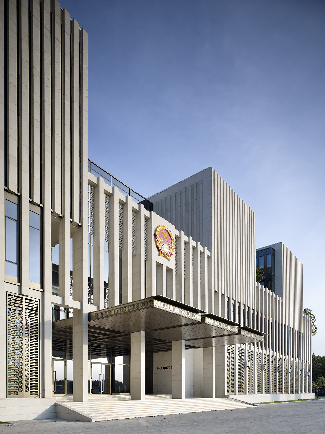 Gallery of vietnamese national assembly in hanoi gmp - Gmp architektur ...