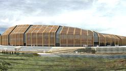 Tercer lugar en concurso de ideas para nuevo estadio de Osorno en Chile