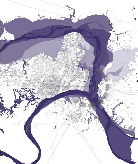 "Kumbh Mela: A Temporary (But Not Instant) City for 2 Million, Part of Acciavatti's diagram ""Triveni Sangam: Celestial-Terrestrial Microcosm, 2006"". Image © Anthony Acciavatti"