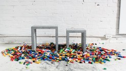 How to Build Your Own Furniture Using LEGOs for the Formwork