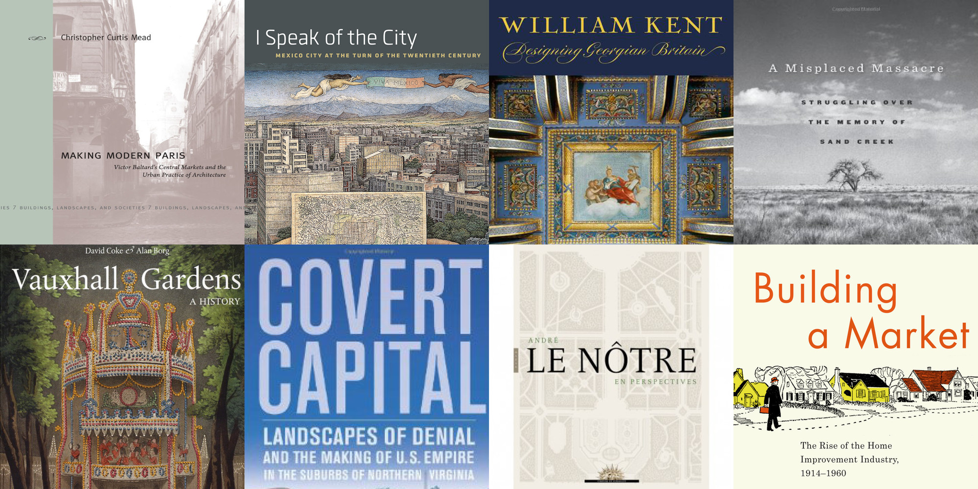 Society of Architectural Historians Announces 2015 Publication Award Recipients, Courtesy of Society of Architectural Historians