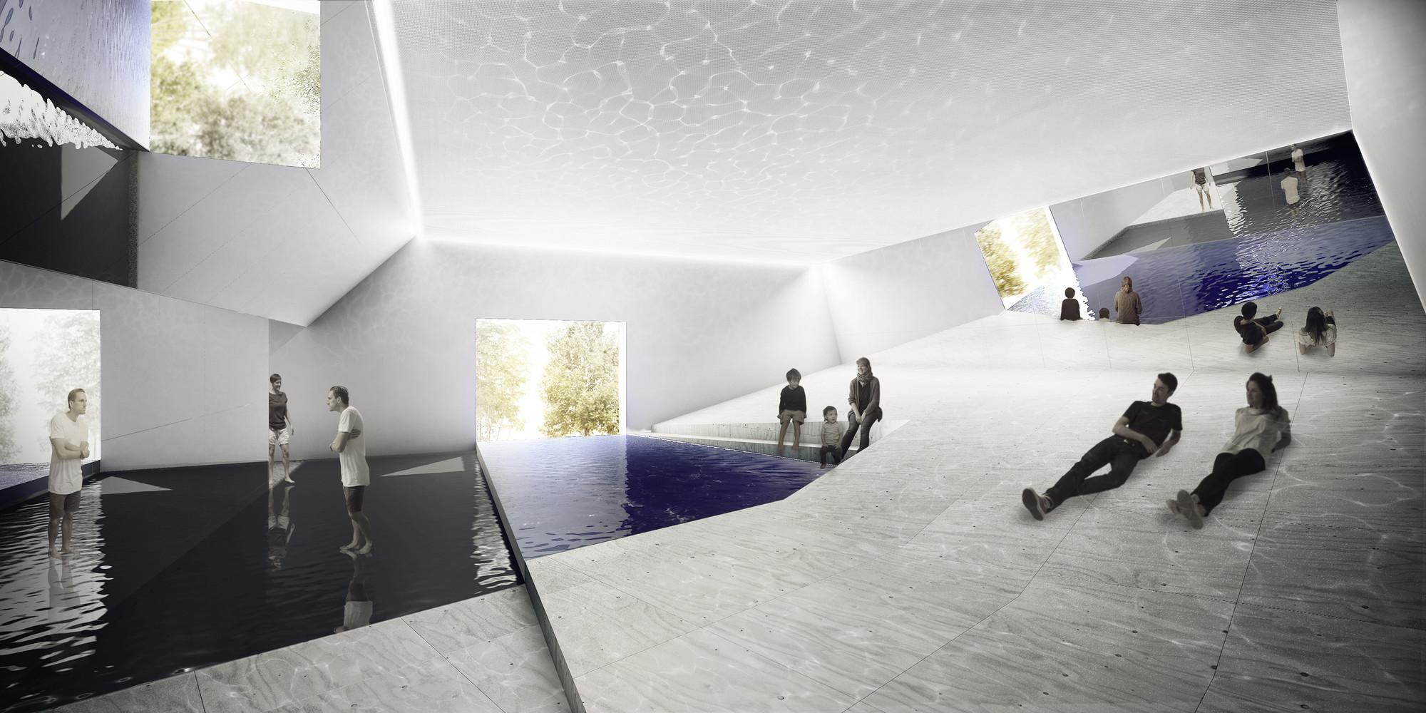 Austrália explora a tipologia da piscina em seu pavilhão para a Bienal de Veneza 2016, Cortesia de Australian Institute of Architects