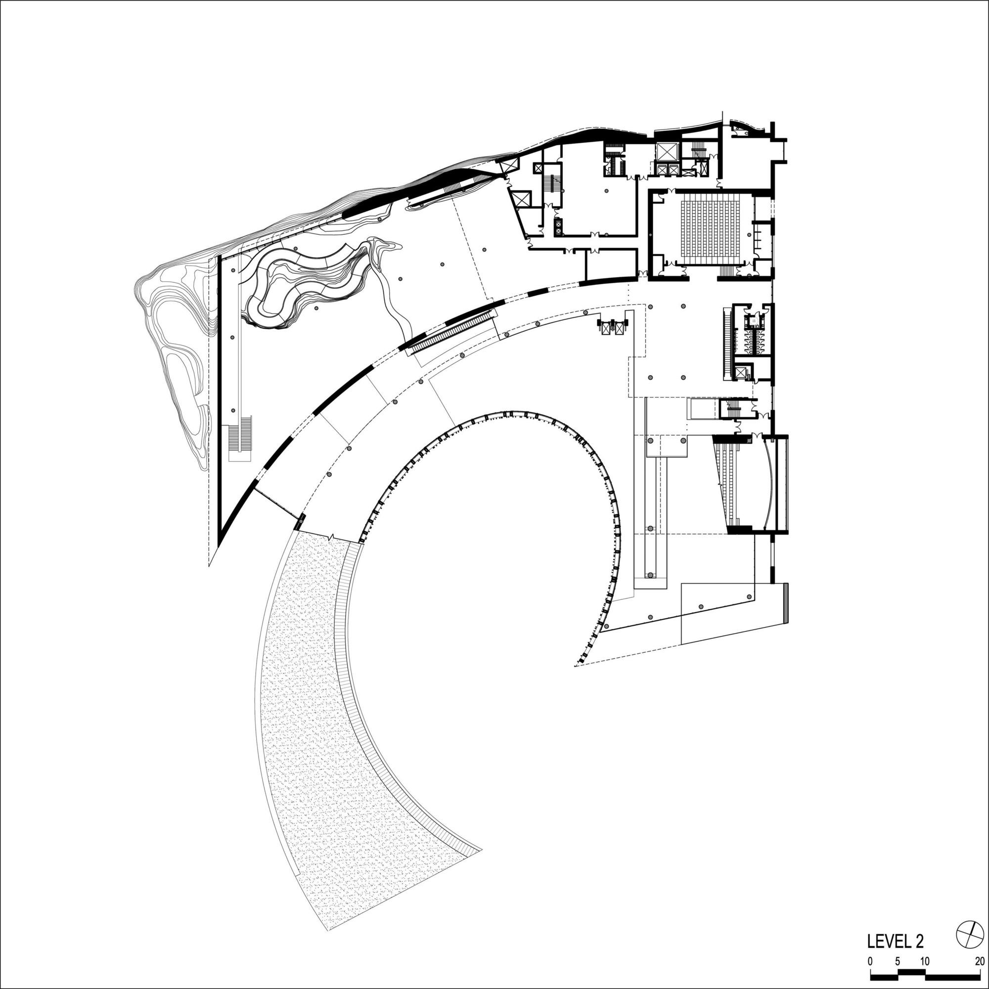 Natural History Museum Exhibition Floor Plan